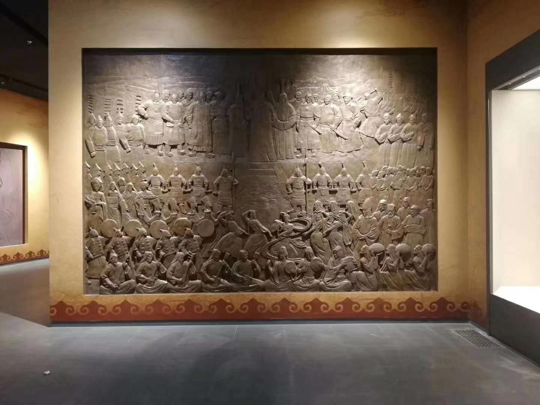 成吉思汗博物馆浮雕