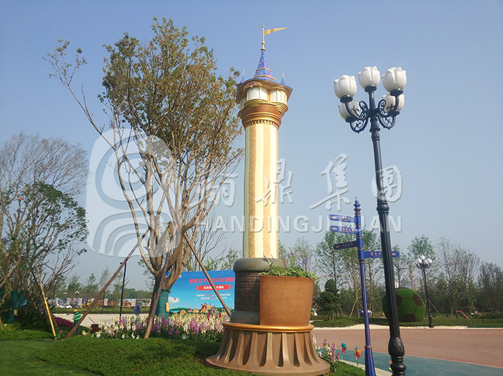 玻璃钢景观灯柱