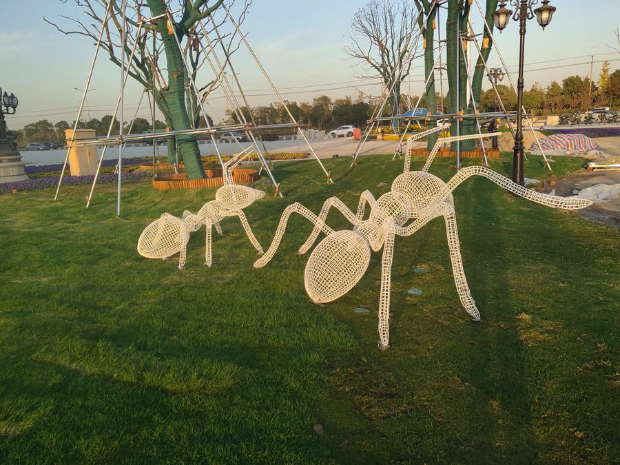 铁艺编织蚂蚁yabo手机版登录电子游戏